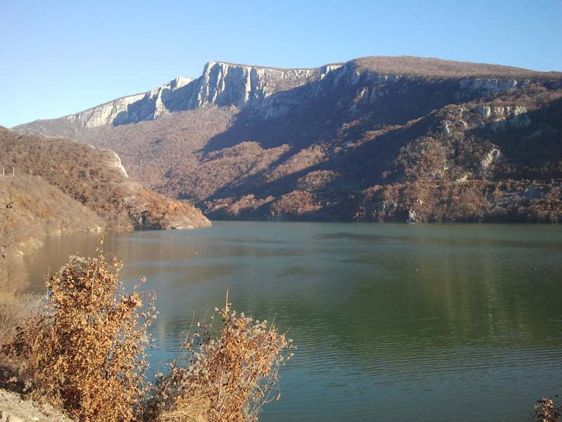 Turist în România: Defileul Dunării