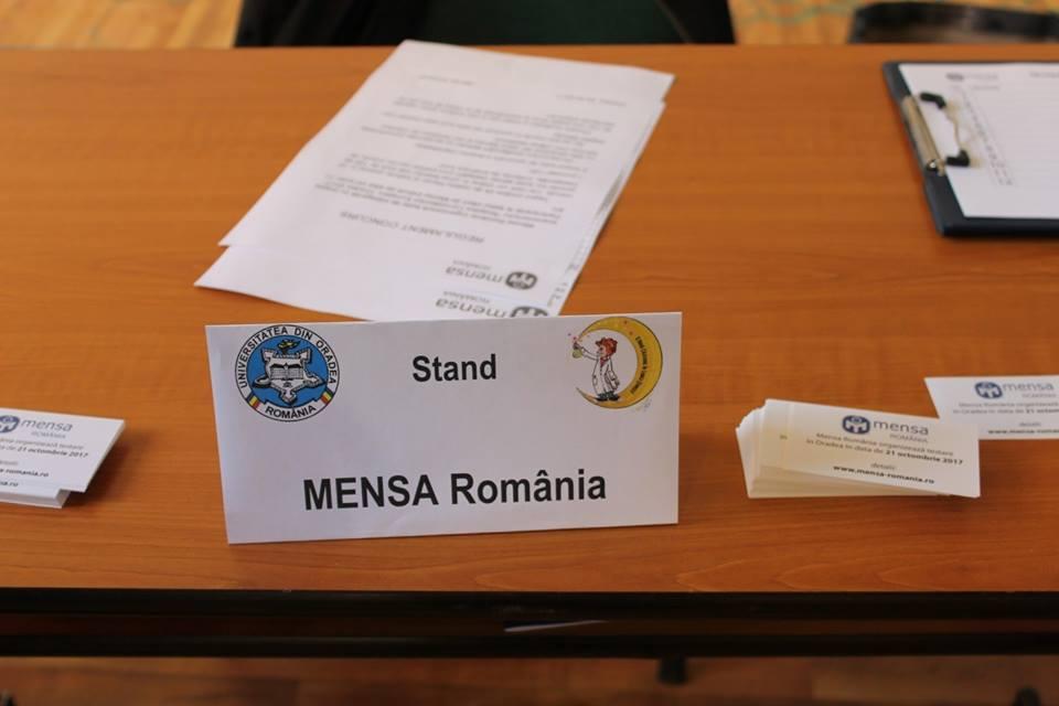 Premianții Mensa din cadrul Nopții Cercetătorilor Europeni, Oradea 2017