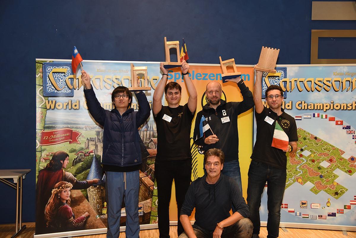 România – Campioană Mondială la Carcassonne